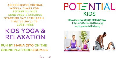 KIDS YOGA (SEND Kids & Siblings)