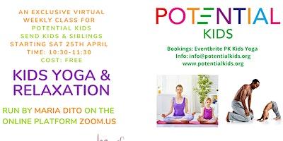 Weekly KIDS YOGA & Relaxation for SEN Kids & Siblings