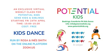 KIDS DANCE (SEND Kids & Siblings)