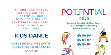 KIDS DANCE (SEND Kids & Siblings) tickets
