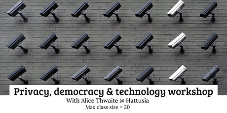 Privacy, Democracy and Technology Workshop tickets