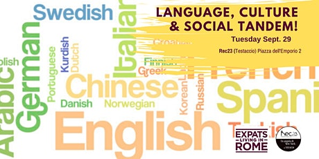 Tuesday Language, Culture & Social Tandem! tickets