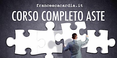 Corso Specialistico Completo Aste - online biglietti