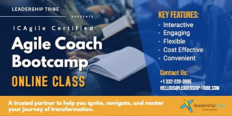 Agile Coaching Bootcamp (ICP-ATF & ICP-ACC)  Remote Classes - July 2020 tickets