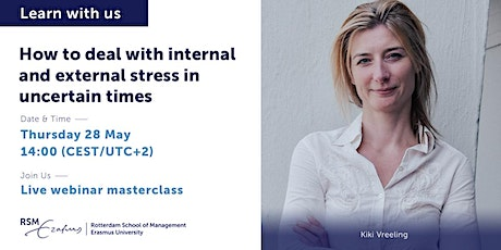 Webinar - How to deal with internal and external stress in uncertain times tickets