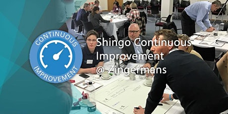 SHINGO Discover Excellence at Zingermans  2nd & 3rd December 2020 tickets
