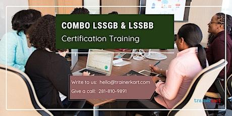 Combo LSSGB & LSSBB 4 day Online classroom Training in Destin,FL tickets