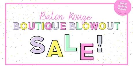 Baton Rouge Boutique Blowout Sale - VIP tickets