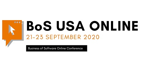 Business of Software Conference USA Online 2020 tickets