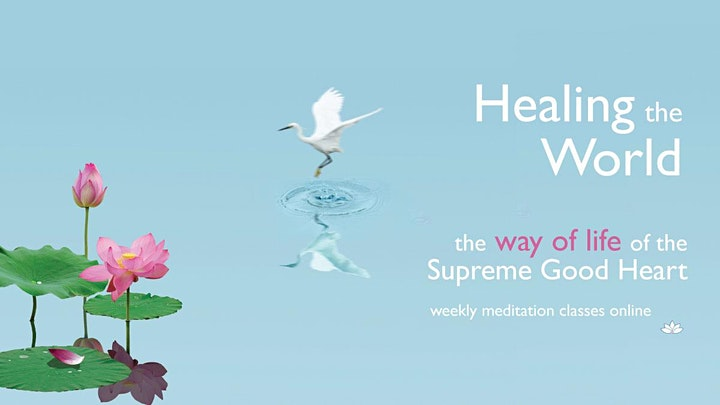 Online Meditation Class - Meditations to Deal with Difficulties image