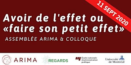 Assemblée & Colloque ARIMA-REGARDS tickets