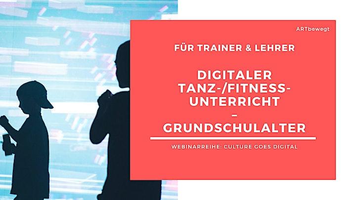 WEBINAR 2: Digitaler Tanz- und Fitnessunterricht (Grundschulalter): Bild