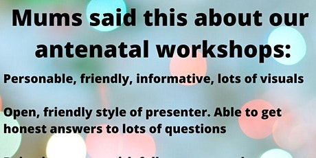 Antenatal Workshop for Mums tickets