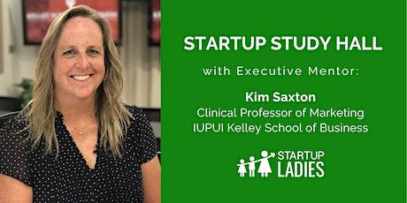 Virtual Startup Study Hall with Kim Saxton tickets