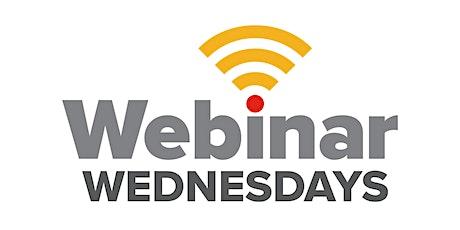 Webinar Wednesdays biglietti
