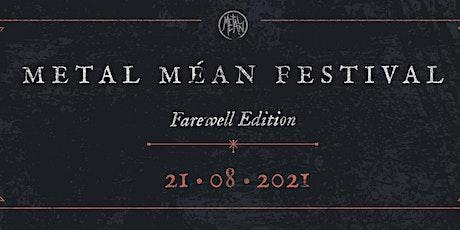 Metal Méan Festival 2021 tickets
