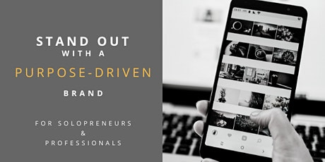 [WEBINAR] Stand Out With a Purpose-Driven Brand tickets