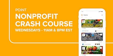 POINT Volunteer App - Nonprofit Crash Course tickets