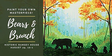 Bears & Brunch: Paint Your Own Masterpiece tickets