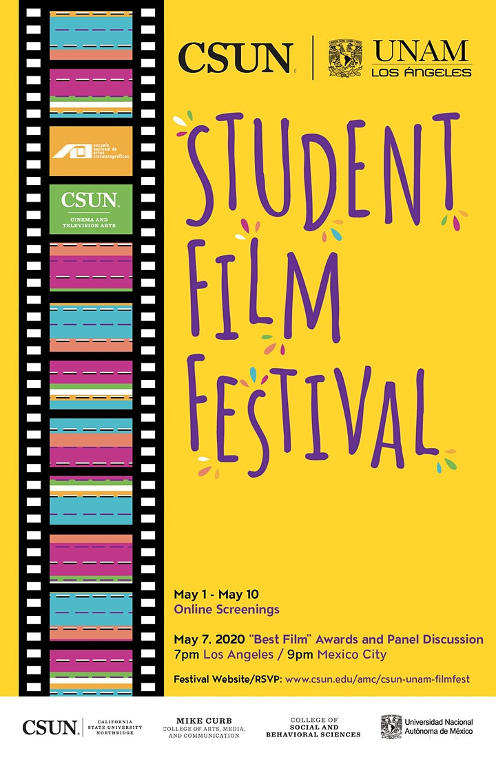 "CSUN/UNAM Student Film Fest ""Best Films"" Awards and Panel Discussion image"