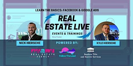 Webinar | Learn The Basics: Facebook & Google Ads Tickets