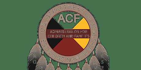 2020 ACF Tribal Consultation tickets