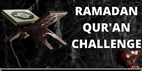 Ramadan Qur'an Challenge - Sisters' Class tickets