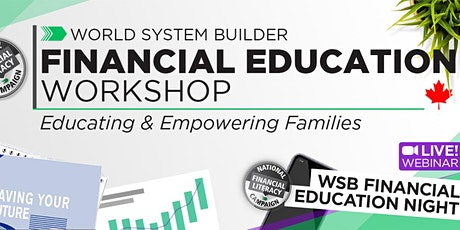 Online Free Financial Literacy Workshops tickets