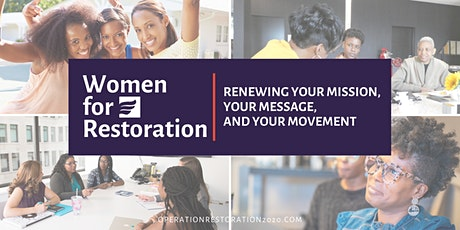 Renewing Your Mission, Your Message, and Your Movement tickets