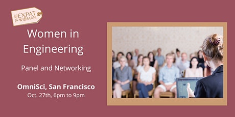 FREE EVENT: Women in Engineering: Networking + Panel Discussion  billets
