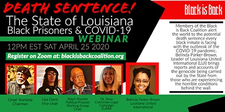 Death Sentence! The State of Louisiana: Black Prisoners and COVID-19 tickets