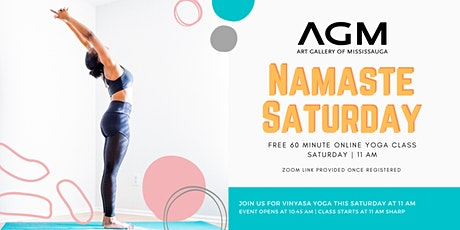 AGM Namaste Saturday tickets