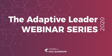 The Adaptive Leader Webinar Series tickets