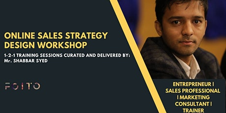 Online Sales Strategy Design Training tickets
