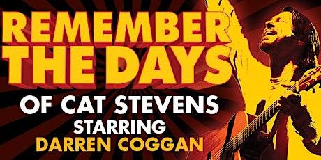Remember The Days of Cat Stevens - Darren Coggan tickets