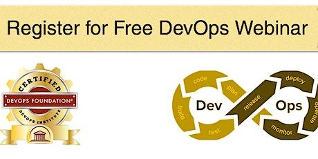 Free DevOps Webinar tickets
