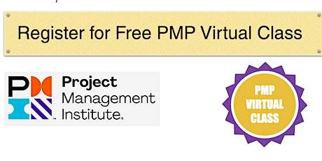 PMP Virtual Class tickets