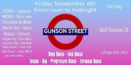 Gunson Street tickets