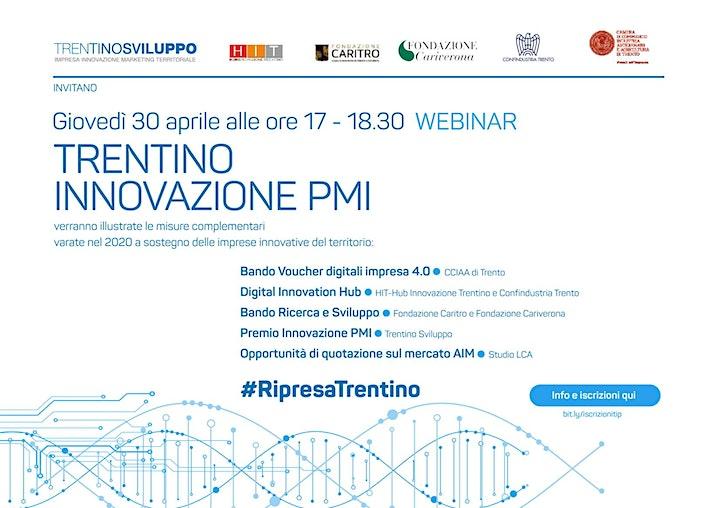 Immagine Trentino Innovazione PMI - webinar