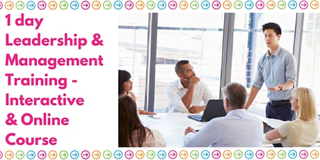Leadership & Management - Interactive Online Course tickets
