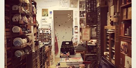 ATELIER d'Imprimerie Typographique MAGIQUE billets