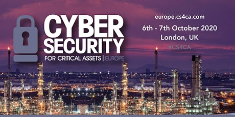 CS4CA Europe: Industrial Cyber Security Summit | London | October 2020 tickets