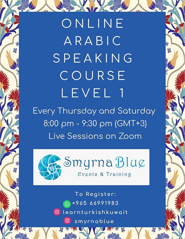 Arabic Speaking Class