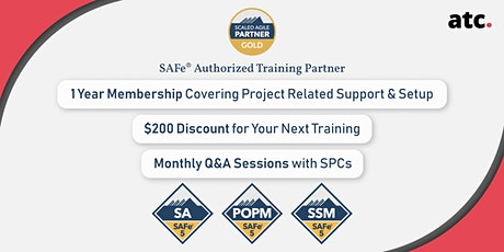 Leading SAFe 5.0 with SAFe Agilist Certification Des Moines, Iowa (Weekend) Online tickets