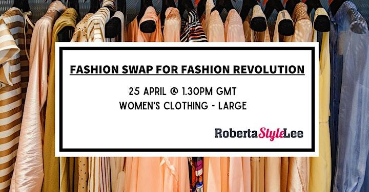 Clothing Swaps For Fashion Revolution Week image