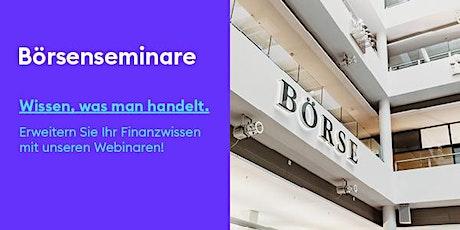 Börse Stuttgart Webinar: Anleihen Tickets