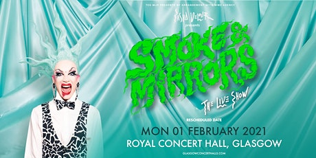 Sasha Velour - Smoke & Mirrors  Tour (Royal Concert Hall, Glasgow) tickets