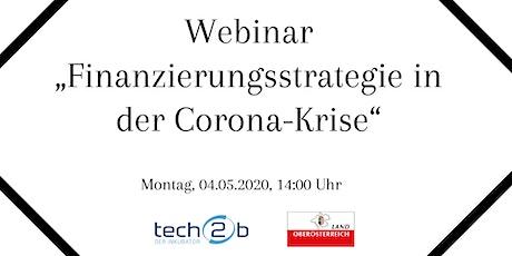 "BIZtrain/Webinar ""Finanzierungsstrategie in der Corona-Krise"" tickets"