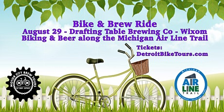 Bike and Brew Ride - Michigan Air Line Trail tickets