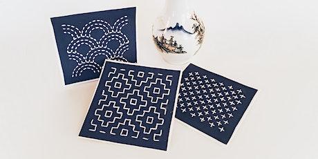 Sashiko Embroidery Workshop with Sandy Maxfield tickets